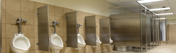 Is Some Restroom Digital Signage Really Appropriate?